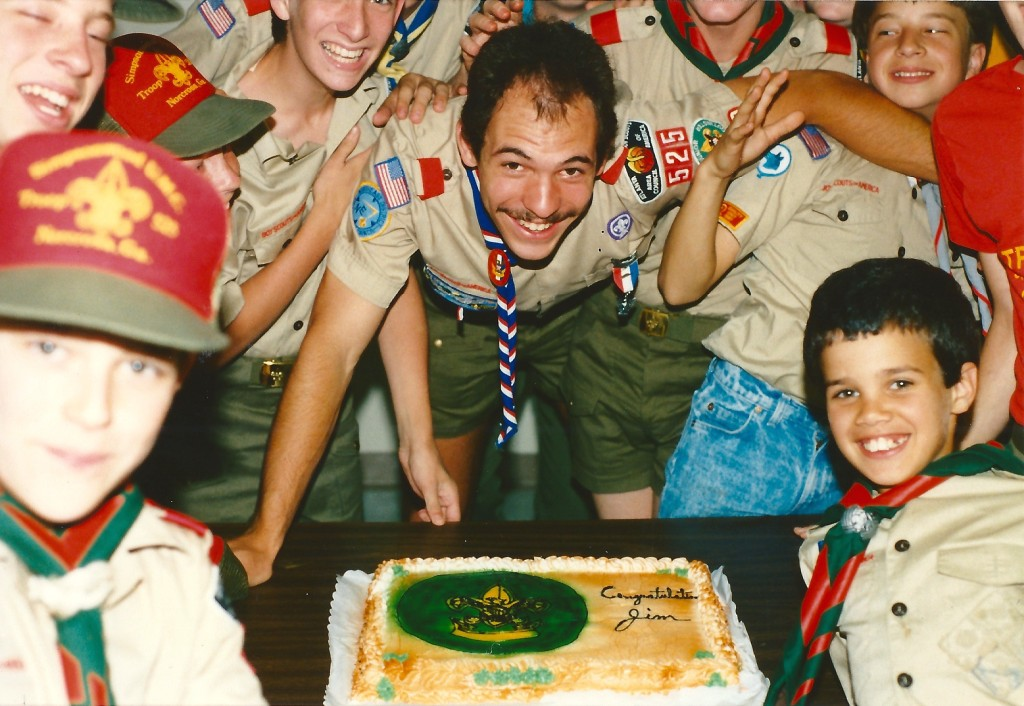 Jim as Assistant Scoutmaster