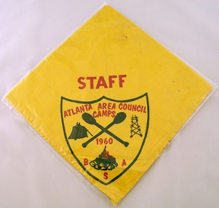 Bob's staff neckerchief from 1960.