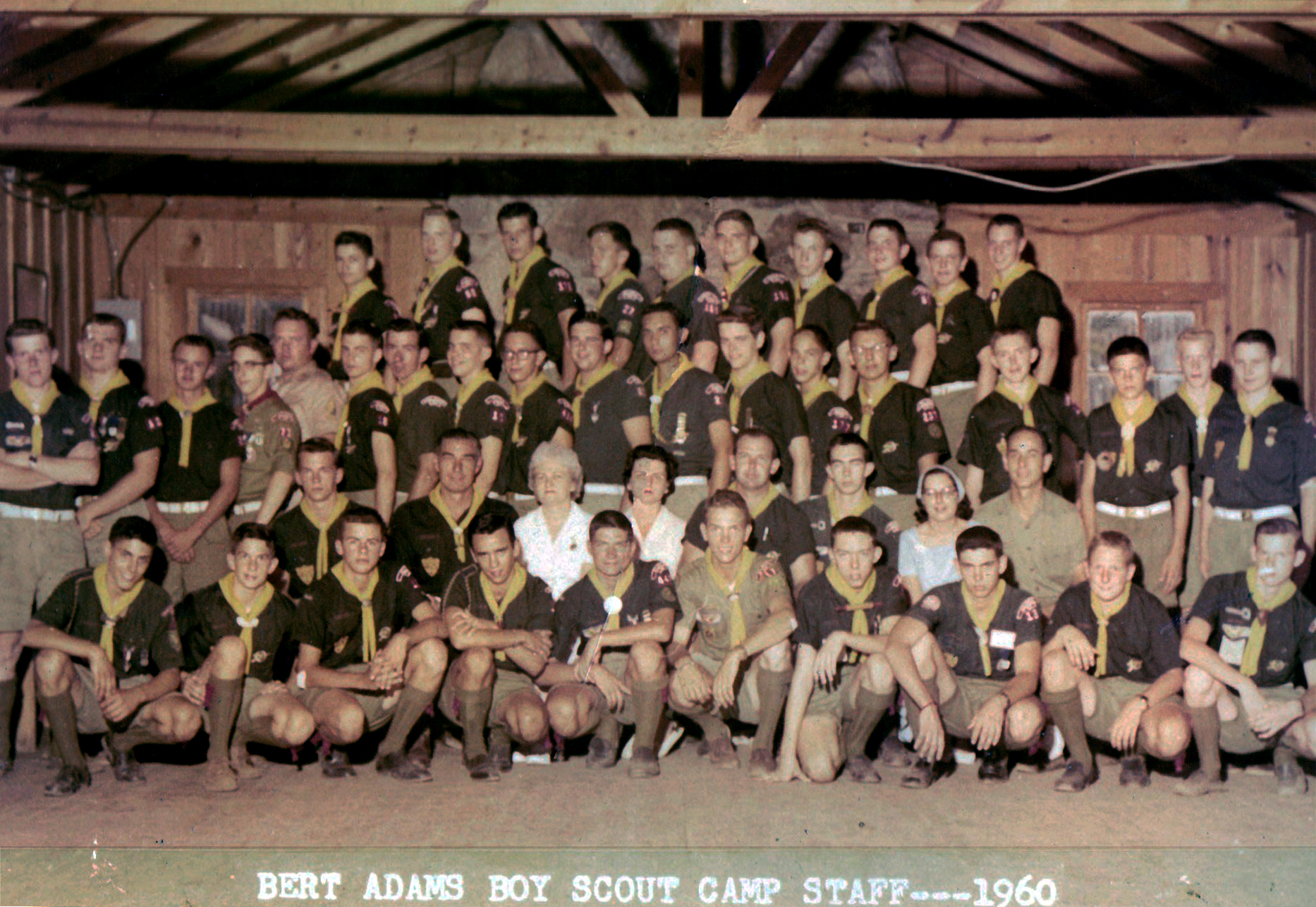 Bert Adams Summer Camp Staff 1960
