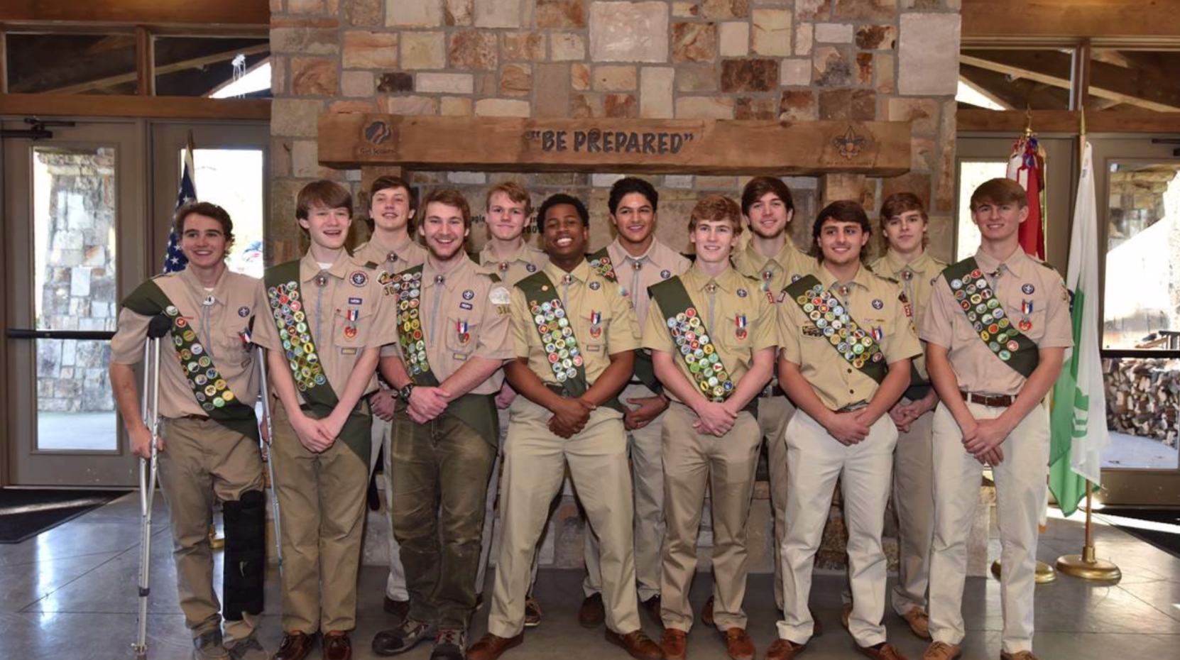The Lovett Eagle Scouts