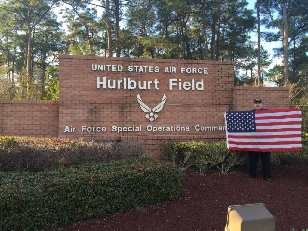 Air Force Special Special Operations Command, Hurlburt Field, Navarre, FL, where Jim was assigned 1999-2001.