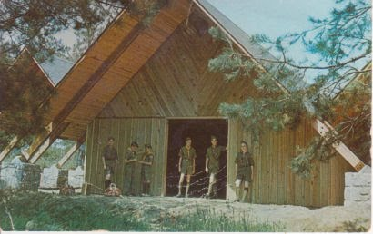 The Trading Post at Camp Bert Adams