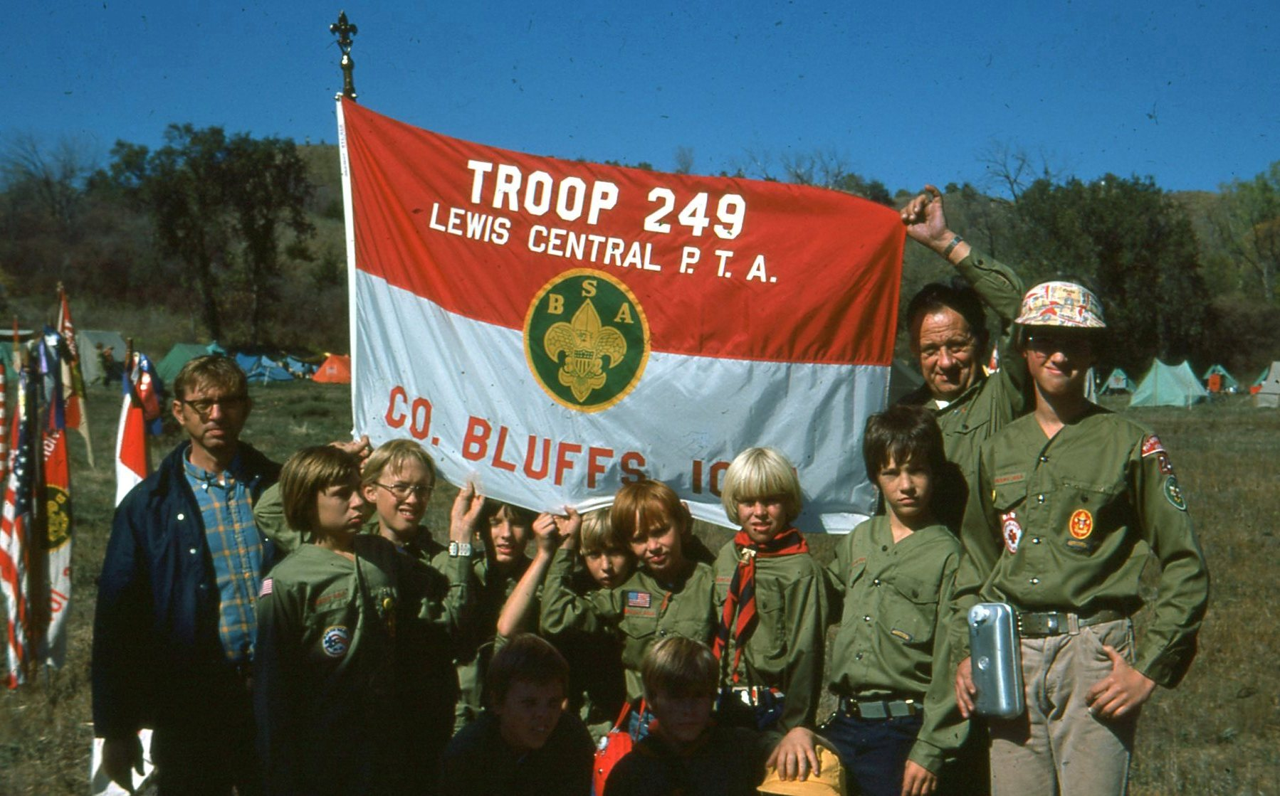 Troop 249 of Council Bluffs, Iowa