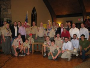 Celebrating Troop 1776's 40th anniversary