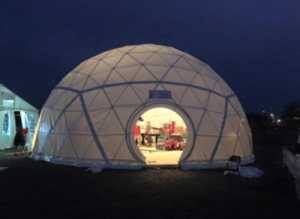The Canadian Scouts dome tent