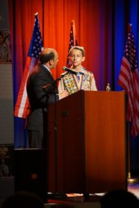 Mr. Tim Tassopoulos presenting me the Adams Eagle Scout Service Project of the Year for the Atlanta Area Council