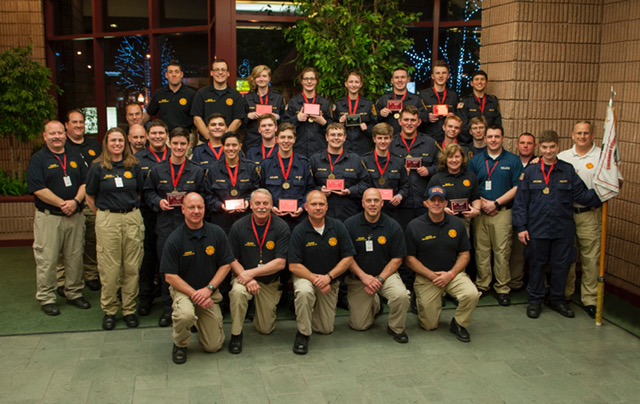 The Cherokee County Fire Explorer Post