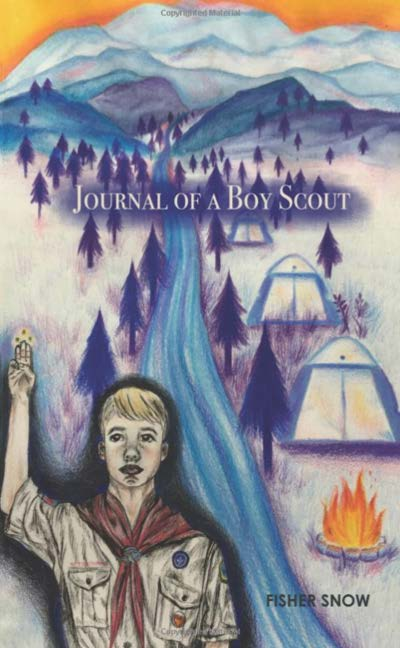 "The cover of Fisher Snow's ""Journal of a Boy Scout"""