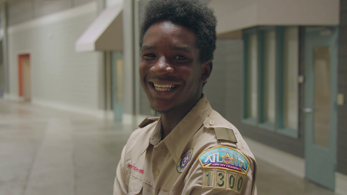 Decoda, a Scout in Troop 1300 on the Westside